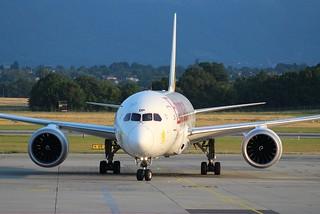 Boeing 787-8 Dreamliner. ET-AOP. Ethiopian Airlines. ETH726.