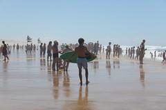 Mimizan plage (loryraffa15 aka... Lo.Ra.) Tags: france francia mimizan plage spiaggia tavola surf onde wave sabbia enfant ragazzi sea mer mare