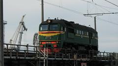 M62-1358.Riga (ЕгорЖуравлёв) Tags: latvia latvija riga rīga mīlgrāvis bridge railway railroad locomotive diesel m62 ldz august 2018 canon