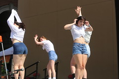 2018_AF_3077 (Knox Triathlon Dude) Tags: 2018 dance korean croptop croppedtop belly abs festival usa bellybutton shorts denim bellyshirt daisydukes shortshorts lady dancer knoxville tn female kpop midriff beautiful pretty