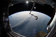 Planet of Clouds (NASA's Marshall Space Flight Center) Tags: nasa marshall space flight center msfc international station iss astronauts expedition 56 earth esa european agency