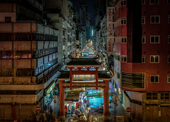 Temple Street Market (mcalma68) Tags: hong kong temple street market night