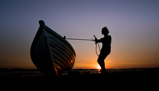 Remember as there are people that can help you to roll the boat of your dreams, there are also people who can drill holes under that boat to make it sink.~Israelmore Ayivor, ~Shaping the dream~