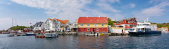 Charming Coastal Communities (Ranveig Marie Photography) Tags: pano panorama espevær bømlo norge norway summer coast coastal houses sea
