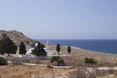 Halki Pondamos Bay Church (ir0ny) Tags: halki greece chalki rhodes aegean mediteranean island church orthodox greekorthodox pondamos