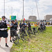 Anti-Violence Protesters Attempt to March on the I-90 Expressway Park Ridge Illinois 9-3-18 3540