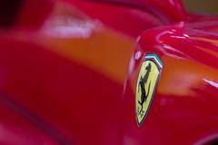 Ferrari F40 (Brieuc.Baillot) Tags: ferrari f40 maranello sinsheim nikon d600 sigma 70200 sigma70200apodghsm detail zoom red prancinghorse horse logo automotive art supercar v8 biturbo classic 2018 august