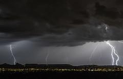 Lighting over Green Valley (Tomingramphotography.com) Tags: lighting monsoon arizona greenvalley nikon d5 longexposure