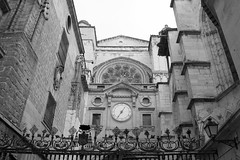 Cathedral Entrance (David Gange) Tags: toledo spain nikon d7200 tamron 18200mm aspherical macro lens cathedral entrance black white