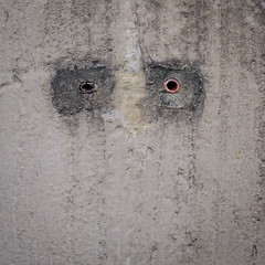 Mr. Monday (Werner Schnell Images (2.stream)) Tags: ws monday montag face gesicht wand