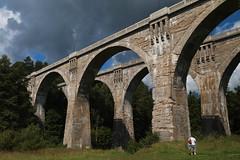 Mosty w Stańczykach (jacekbia) Tags: europa polska poland suwalszczyzna stańczyki most mosty kolejowe architecture architektura atrakcja ciekawemiejsce outdoor canon 1100d wiadukty bridge