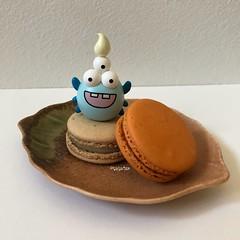 Spide Baby Boom (tiramisu_addict) Tags: spiderbabyboom toys sunminkim macarons sweets lettemacarons instagram minifigs