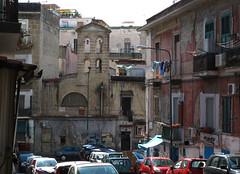 Old church at Via Arenaccia (rvandermaar) Tags: church tower via arenaccia napoli naples napels italy italia rvdm