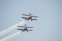 Bournemouth Airshow 2018 - 69 (D.Ski) Tags: wingwalkers flyingcircus bournemouth airshow bournemouthairshow bournemouthairfestival 2018 airplane aircraft planes display flying england southcoast uk nikon d700 nikond700 200500mm