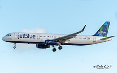 JetBlue A321-231 N981JT (aleks_cal) Tags: jetblue jb airbus a321 airbus321 avion landing losangeles airport klax lax aviation blue