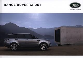 Land Rover Range Rover Sport;  2016_1, car brochure