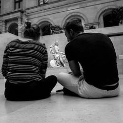 DSC09489 (Max_Gont) Tags: paris musee noir blanc black white blackandwhite museum louvre dessinateur draw drawing artist art paintings