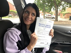 Massive congratulations  to Aurelia Bogatu passing her driving test with an excellent performance with only 4 minor faults.   www.leosdrivingschool.com