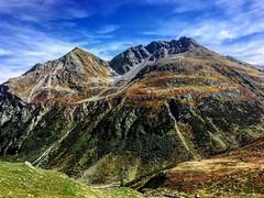 Vista dal passo della Flüela  verso l'Engadina (CANETTA Brunello) Tags: vista colori montagne flüela passo