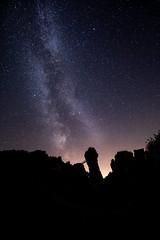 Milky Way at Externsteine (Martin - Ginger Photographer) Tags: canon 5dmarkiv astro milkyway detmold nrw composition nightsky astrophotography rocks germany deutschland teutoburgforest teutoburgerwald canon1635