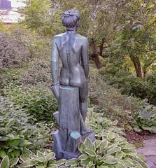 Margit, bronze sculpture (1946) by Bror Hjorth (Gösta Knochenhauer) Tags: 2014 august nikon coolpix p520 sculpture skulptur plastik nude naked nue female femme woman marabouparken museum sundbyberg stockholm sverige sweden schweden suède svezia suecia bronze bror hjorth margit art dscn5917nik dscn5917 nik