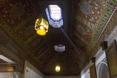 2018-4654 (storvandre) Tags: morocco marocco africa trip storvandre marrakech historic history casbah ksar bahia kasbah palace mosaic art