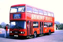 Slide 121-59 (Steve Guess) Tags: 2clt leyland olympian london buses selkent bus chessington cwoa surrey greater england gb uk british coach rally worldofadventures d261ful l261