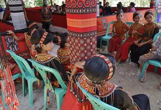INDONESIEN, Sulawesi - Traditionelle Totenfeier der Toraja bei Makale, 17640/10651