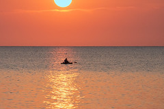 September Sunrise (KWPashuk) Tags: nikon d7200 tamron tamron18400mm lightroom luminar luminar2018 kwpashuk kevinpashuk sunrise fisherman fishing water lake ontario bronte beach park oakville canada outdoors morning colours colors peaceful