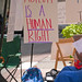 Hunger Strikers Abolish ICE Protest and Rally Downtown Chicago Illinois 8-16-18 3150