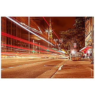 Avenida Paulista, São Paulo, Noite, Ciclo Via, Noite