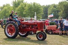 Young Driver (Josh152) Tags: pioneerdays wi nikon d800 kid wisconsin eauclaire child tractor farmall nikond800 boy