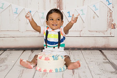 Cake Smash Photography - East Grinstead