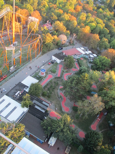 Prater grounds, from Riesenrad