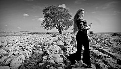 (plot19) Tags: yorkshire dales england north northern landscape sony rx100 liv love light olivia daughter teenager plot19 photography portrait uk britain british blackwhite trees tree limestone