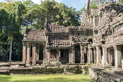 Preah Khan, Angkor Archaeological Park, Cambodia (tik_tok) Tags: angkorarchaeologicalpark angkorwar asia cambodia preahkhan siemreap southeastasia unescoworldheritagesite abandoned ancient ancientcivilization architecture broken buildings damaged day derelict destroyed empty fallingdown forest historic history holiday jungle mysterious old peaceful prayer quiet rainforest religion religious religiousbuilding religiousplace ruins sacred temple tourism touristattraction touristdestination travel trees vacation worship