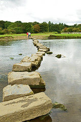 Stepping stones (cmw_1965) Tags: stepping stones ogmore river castle afon old wales bridgend welsh medieval ancient scheduled monument ewenni ewenny