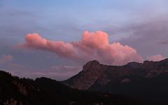 Julian Alps (happy.apple) Tags: starafužina radovljica slovenia si dusk cloud julijskealpe julianalps slovenija mountains summer gore poletje