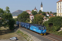 163.242 Litomerice (Gridboy56) Tags: czech cz litochovice locomotive locomotives trains train railways railroad railfreight europe electric cd cdcargo 163 163242 skoda czechrepublic
