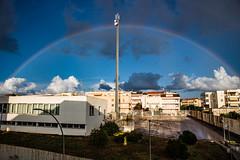 Rainbow (zioignazio) Tags: rainbow alghero sky clouds arcobaleno