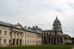 Greenwich Royal Naval College - East (zawtowers) Tags: jubilee greenway section 6 six saturday 8th september 2018 cloudy dry woolwichfoottunneltogreenwich amble stroll walking walk exploring london river thames path following urban exploration royal naval college iconic buildings sight university view looking from bank