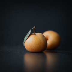 252 / 365 {Explored} (sweethardt) Tags: 365 365project canon aroundthesun asian assignment canon5dmii day252 food freespiritsunday fruit herewegoagain journey2018 journeyhw leaf mbljourney2018 parttwo pear pears personalproject photoeverydayforayear photographer photography photoproject2018 photoproject365 simple stilllife reflection homegrown organic foodphotography pyruspyrifolia explored naturallight