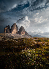 Just me and the View (Croosterpix) Tags: landscape nature dolomiti dolomites mountains clouds sky croosterpix sony a7r nikkor1835