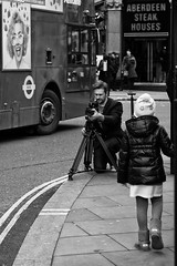 Steak... and say cheese! (abnormally average) Tags: london leicester square photog togger photographer streetphotography abnormallyaverage