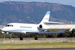 N716GC_02 (GH@BHD) Tags: n716gc dassault falcon falcon2000 falcon2000lx greatclips bhd egac belfastcityairport bizjet corporate executive aircraft aviation