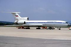 Aeroflot TU-154M RA-85743 GRO 28/06/1995 (jordi757) Tags: airplanes avions gro lege girona costabrava tupolev tu154 aeroflot ra85743
