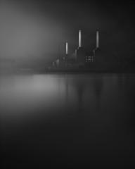 Illumination (jellyfire) Tags: battersea batterseapowerstation darkthoughts england london thames atmospheric dark electricity industrial landmark moody power riverthames unitedkingdom