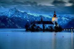 Gmunden Blues (hapulcu) Tags: austria austrija autriche gmunden oberösterreich oostenrijk hiver invierno lac lake winter österreich
