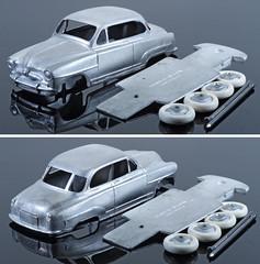 WMC-CDF-27-Aronde (adrianz toyz) Tags: simca aronde diecast white metal toy model car france club dinky clubdinkyfrance cdf cdf27