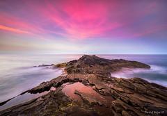 Punta Camello (Gran Canaria) (David Hdez. ) Tags: mar océano sea ocean sunset puestadesol canarias grancanaria islascanarias canaryisland olympusomdem5markii